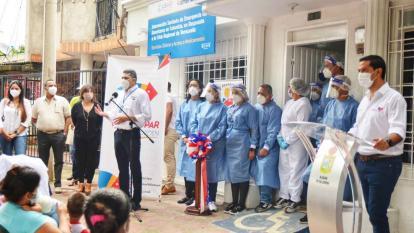 Habilitan centro de salud para atención a migrantes en Valledupar