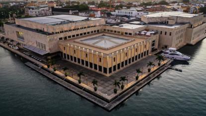 El centro de convenciones de Cartagena es uno de los autorizados para turismo de eventos.
