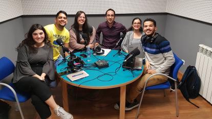Camilo Parga con sus compañeros del Master 2019-2020.