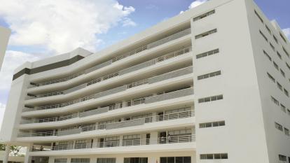 Bloque perteneciente a la Universidad de la Costa (CUC) en Barranquilla.