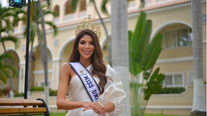 Laura Olascuaga,  Miss Universe Colombia.