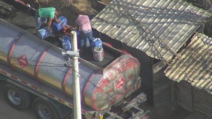 Así se estaría traficando gasolina desde Baranoa hasta Venezuela