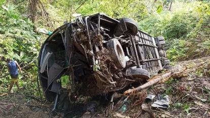 Accidente del bus  pudo ser por imprudencia en la subida: Policía