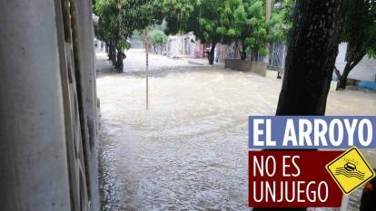 En video   Denuncian que arroyos se meten a casas en Soledad