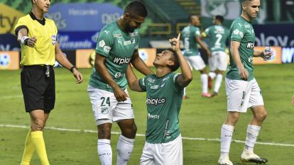 El Deportivo Cali se prepara para su partido contra Vélez Sarsfield en Buenos Aires.
