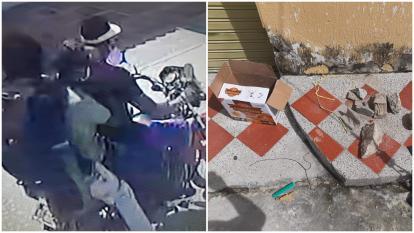 """En video   La """"alerta por un explosivo"""" que sembró pánico en Sabanagrande"""
