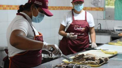 Festival del Chicharrón vendió mil kilogramos de cerdo