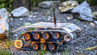 'Robot visión gas detector' desarrollado por la Universidad Autónoma del Caribe.