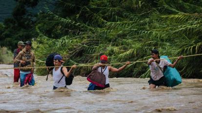 Cierre de fronteras lleva a venezolanos a huir por trochas o por el mar: OEA