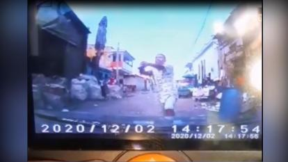En video | Presunto atracador fue asesinado a bala en Rebolo