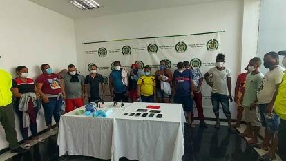 Así operaban 'Los Preadones' para vender droga en Atlántico y Bolívar