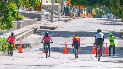 Ciclovías y recreovías continúan este domingo en Barranquilla