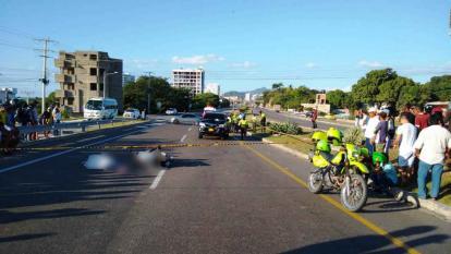 Fallece una mujer en un accidente en la Troncal del Caribe