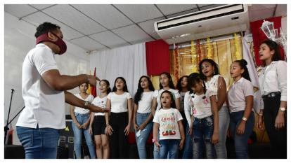 En Video   Las voces de Malambo que le cantan a la Navidad