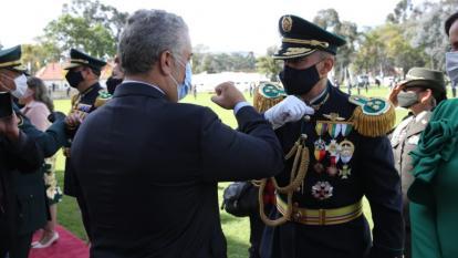Comandante de la regional #8 de la Policía ascendido a Mayor General