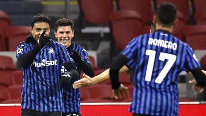 Luis Fernando Muriel certifica el pase del Atalanta a octavos de 'Champions'