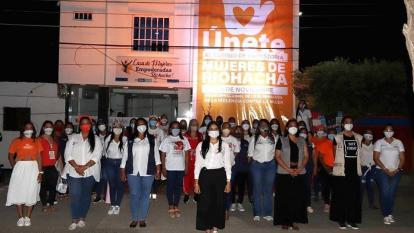 Culminan en La Guajira 16 días de activismo por la mujer