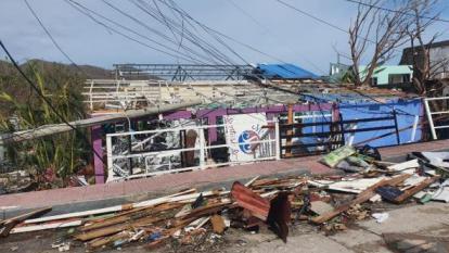 En 20 días terminará la remoción de escombros en San Andrés y Providencia