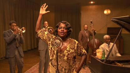 "Viola Davis interpreta a la llamada ""madre del blues"" en Ma Rainey's Black Bottom."
