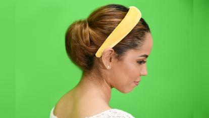 Un peinado exprés a prueba de las brisas decembrinas
