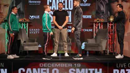 """El """"Canelo"""" reaparece contra Smith en una de las peleas más esperadas del año"""