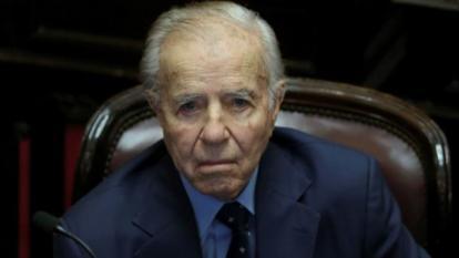 En delicado estado de salud se encuentra el senador argentino Carlos Menem
