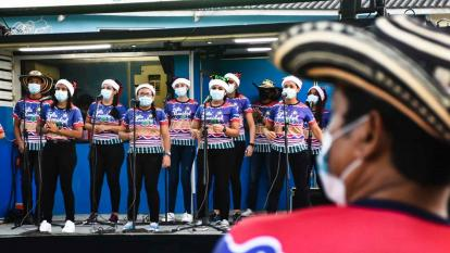 Navimóvil y Cinemóvil se pasean por Barranquilla