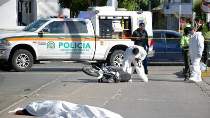 Muere presunto atracador arrollado por un vehículo en Nueva Granada