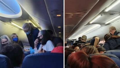 Fallece hombre en pleno vuelo: tenía Covid y no había dicho nada
