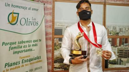 Dónovan Solano, Deportista del Año Acord Atlántico