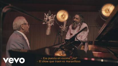 Presentación de Armando Manzanero y Diego El Cigala en el 'El encuentro'