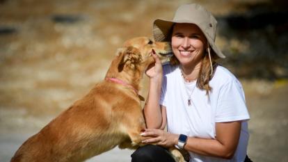 Los amores caninos que nutren el alma de una psicóloga