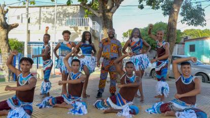 Fuerza Negra: rescate juvenil al compás  africano