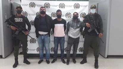 Capturan a tres presuntos extorsionistas en Cartagena