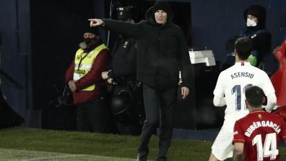 Zinedine Zidane, técnico del Real Madrid.