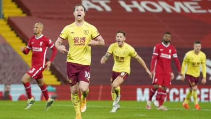 El Burnley se coloca decimosexto con 19 puntos en 18 partidos.