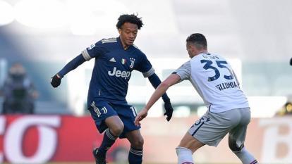 Cuadrado cambia la cara de la Juventus