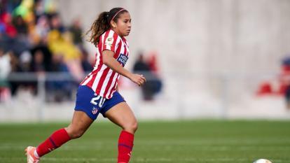 Leicy Santos sufre una lesión en el recto anterior de la pierna derecha