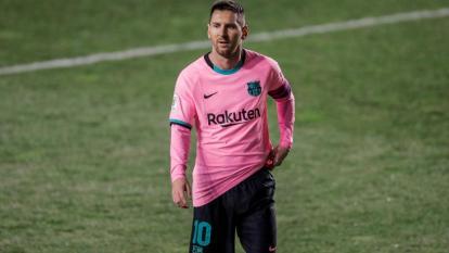 Lionel Messi, delantero del Barcelona.