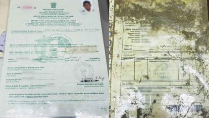 Encuentran documentación del buque boliviano perdido
