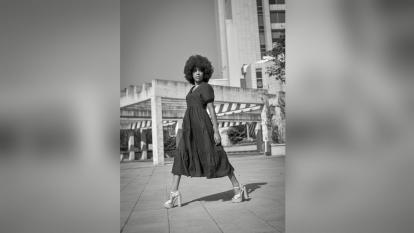 Ana Chacón: un talento afro que se destaca en el modelaje