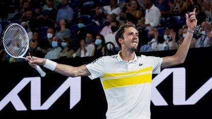 """Medvedev, el """"hombre a batir"""" que busca destronar al rey Djokovic"""