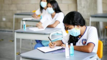 La Institución Educativa Despertar del Sur, en Las Américas, es uno de los colegios públicos que trabaja el modelo de alternancia.