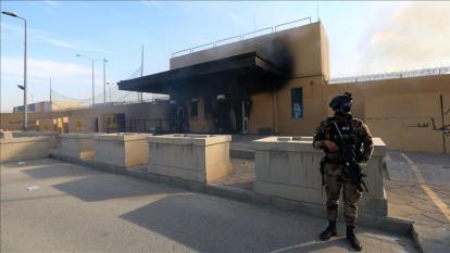 Nuevo ataque con cohetes contra la embajada de Estados Unidos en Bagdad