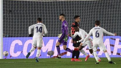 El Real Madrid empata por 1-1 ante la Real Sociedad.