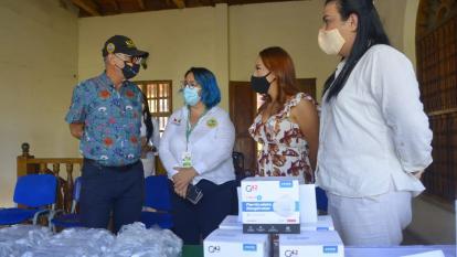 Emiratos Árabes Unidos dona 60 unidades de cuidados Intermedios a Cartagena