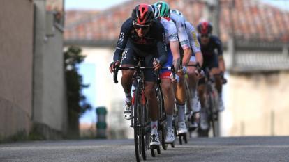 Egan Bernal terminó segundo detrás de Bauke Mollema.