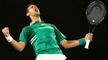 Djokovic engulle otro récord de Federer