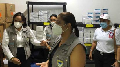 Riohacha inicia vacunación contra la covid-19 a adultos mayores de 80 años