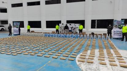 Desarticulan la banda 'Los Warri' y decomisan 641 kilos de marihuana